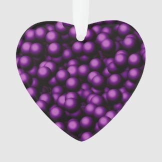 Burbujas cremosas, púrpuras
