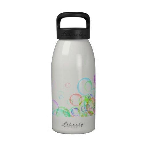 Burbujas de jabón botella de beber