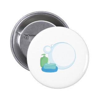 Burbujas de jabón pin redondo 5 cm