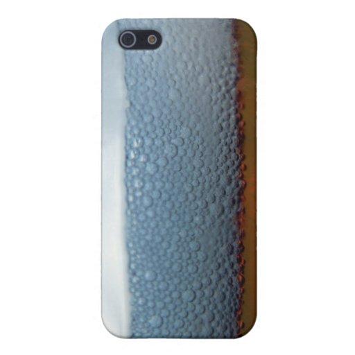 Burbujas de la fabricación de la cerveza iPhone 5 carcasa