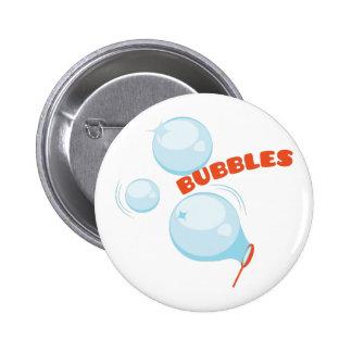 Burbujas de las burbujas pin redondo 5 cm