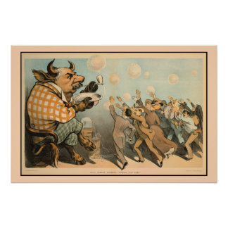 Burbujas de Wall Street, siempre iguales Póster