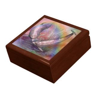 Burbujas del amor - caja de regalo del arte del de