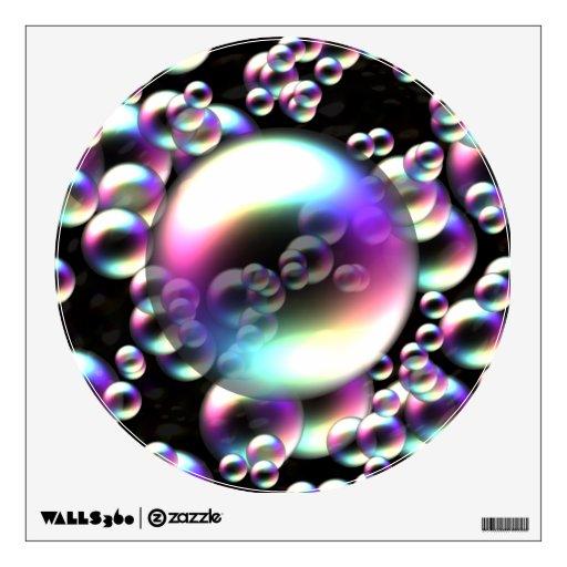 Burbujas del arco iris vinilo