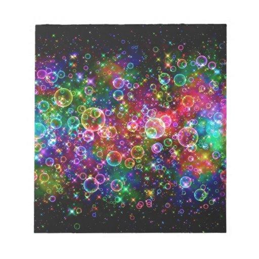 burbujas del emo blocs de notas