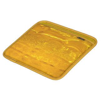 Burbujas del oro fundas para iPads