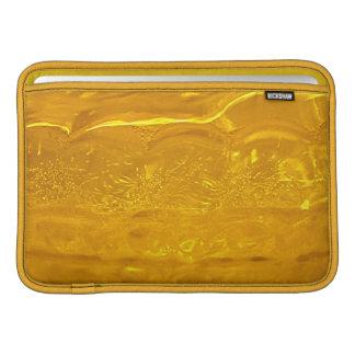 Burbujas del oro fundas para macbook air