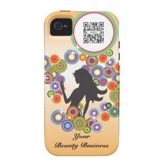 burbujas del perfume de la plantilla del caso del iPhone 4 fundas