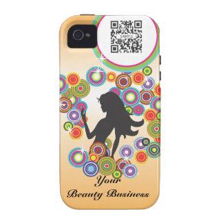 burbujas del perfume de la plantilla del caso del iPhone 4/4S fundas