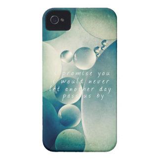 burbujas del verde del extracto del caso de iphone Case-Mate iPhone 4 cárcasa