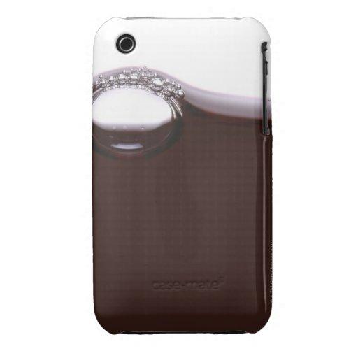Burbujas del vino rojo Case-Mate iPhone 3 cobertura