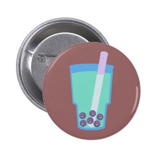 Burbujas felices del té de Boba Pin Redondo 5 Cm