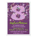 ¡Burbujas felices! Fiesta de cumpleaños colorida Invitaciones Personales