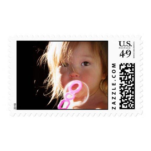 Burbujas - inocencia de la niñez sellos