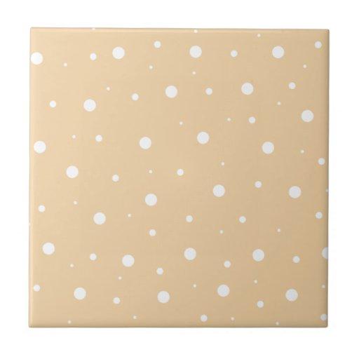 Burbujas marrones claras azulejo cerámica