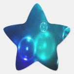 Burbujas Colcomanias Forma De Estrellaes Personalizadas