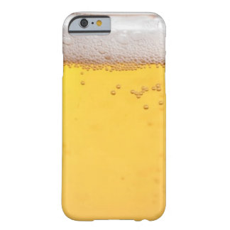Burbujas principales de la cerveza funda para iPhone 6 barely there