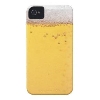 Burbujas principales de la cerveza iPhone 4 Case-Mate cárcasa