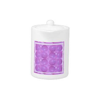 Burbujas púrpuras de la perla - basadas en bolas d