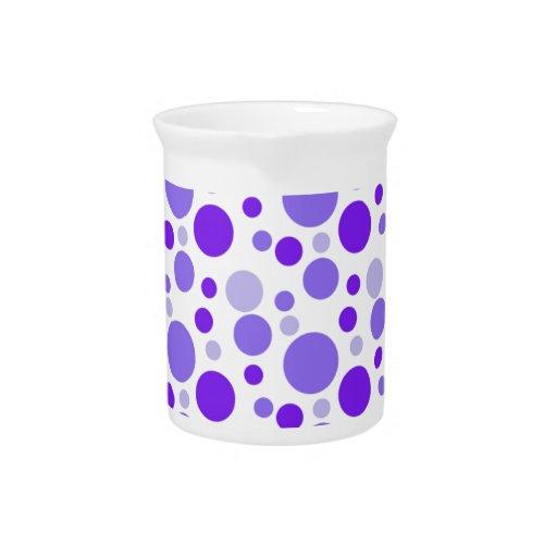 Burbujas púrpuras jarrones
