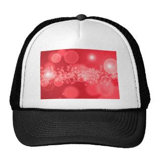 burbujas rojas gorros