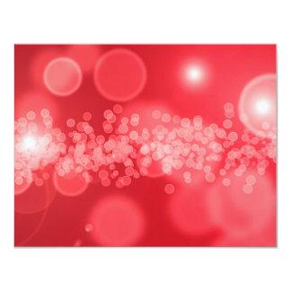 burbujas rojas invitacion personal