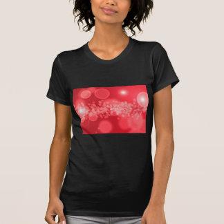 burbujas rojas camiseta