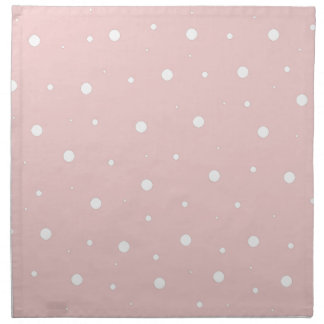Burbujas rosadas servilleta de papel