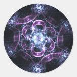 Burbujas Sagradas-G de la energía Etiquetas Redondas