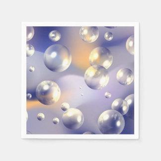 Burbujas Servilleta Desechable