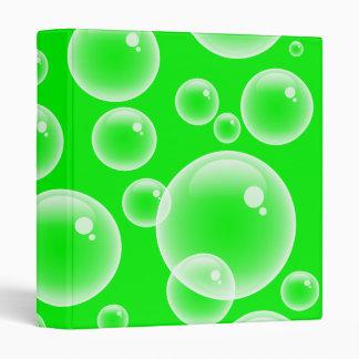 "Burbujas verdes carpeta 1"""