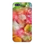 Burbujas vibrantes de Bokeh iPhone 5 Cárcasa