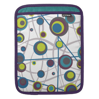 Burbujas y líneas mangas de iPad