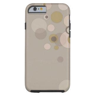 Burbujeante - caso del iPhone 6 del caso del Funda De iPhone 6 Tough