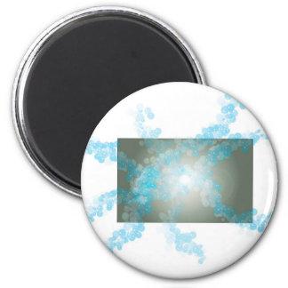 burbujeante imán redondo 5 cm