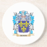 Burch Coat of Arms Beverage Coasters
