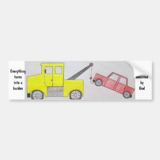 Burden Bumper Sticker