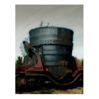 Burden Iron Works, Ladle - Postcard
