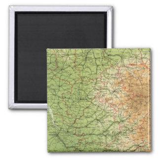 Burdeos al sudoeste de la sección de Francia Imanes De Nevera