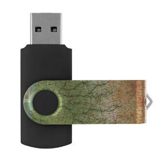 Burdeos al sudoeste de la sección de Francia Memoria USB