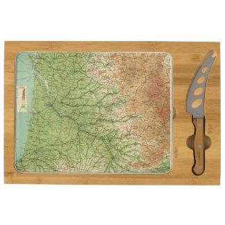 Burdeos al sudoeste de la sección de Francia