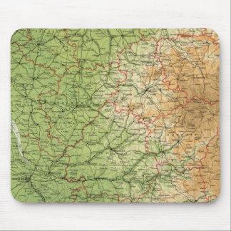 Burdeos al sudoeste de la sección de Francia Tapetes De Ratones