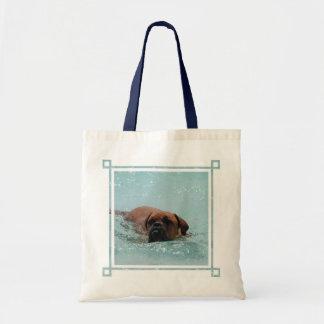 Burdeos de la natación bolsas