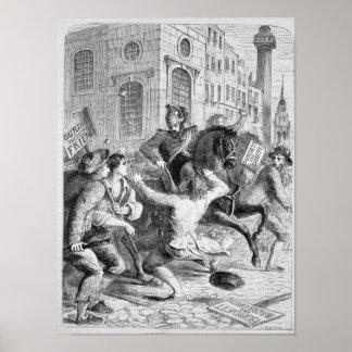 Burdett Riot, 1810 Posters