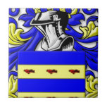 Burdette Coat of Arms Ceramic Tile