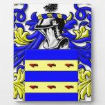 Burdette Coat of Arms Photo Plaque