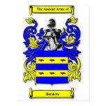 Burdette Coat of Arms Postcard
