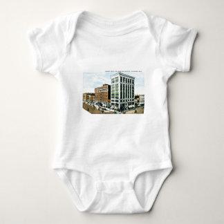 Burdick Hotel, Kalamazoo, Michigan Baby Bodysuit