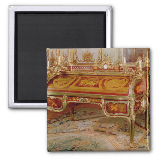 Bureau du Roi by Oeben and Riesener 2 Inch Square Magnet