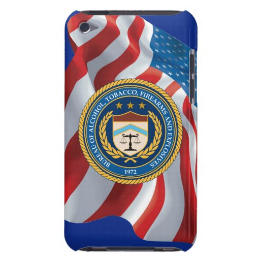 Bureau of Alcohol Tobacco Firearms Barely There iPod Cover